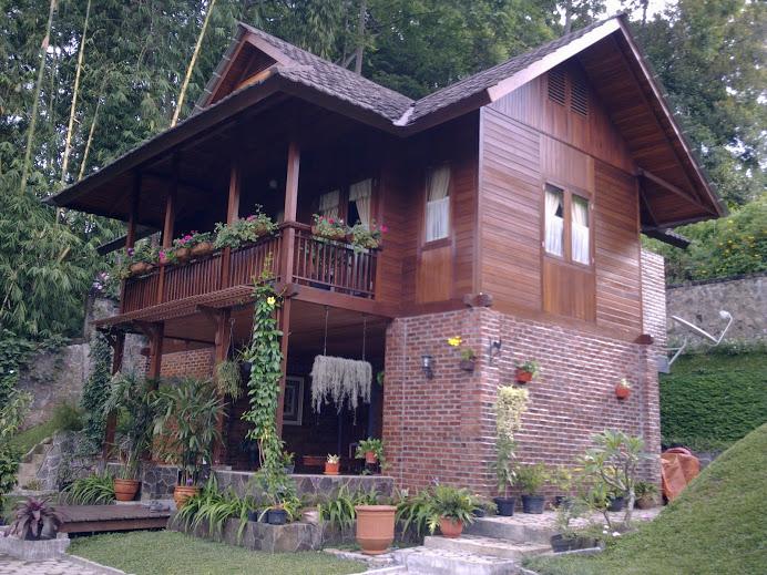 Desain Rumah Kayu Knockdown Murah Nagreg Bandung Angel Sebagai Berikut