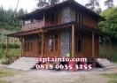 Dijual Rumah Kayu Knockdown Murah Di Tawang Tasik