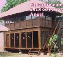 Jual Rumah Kayu Knockdown Murah di Situbondo Jawa Timur