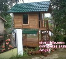 Dijual Rumah Kayu Knockdown Murah Di Ciracap Sukabumi