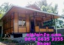 Dijual Rumah Kayu Knockdown Murah Di Cihideung Tasik