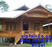 Dijual Rumah Kayu Knockdown Murah Di Jombang